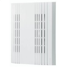 """Decorative Wired Door Chime, 7-3/8""""w x 9""""h x 2-3/4""""d, in White"""