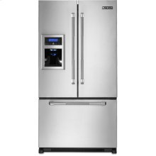"Cabinet Depth French Door Refrigerator with External Dispenser, 69""(h), Pro-Style® Stainless Handle"