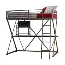 Pewter Z Loft bed