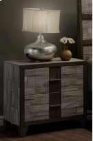 Henderson 2 Tone Melamine Nightstand Product Image