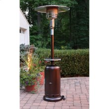 Steel Umbrella Patio Heater, 7' tall, Propane, 41,000 BTU