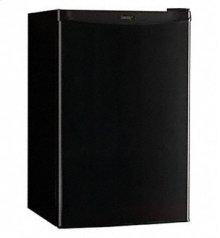 COMPACT FRIDGE WITH FREEZER DCR412BL