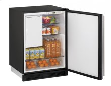 """1000 Series 24"""" Combo® Model With Stainless Solid Finish and Field Reversible Door Swing"""