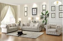 Love Seat, 4 Pillows