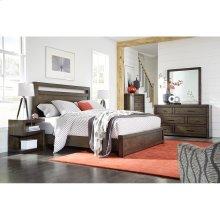 Queen Panel Bed HB