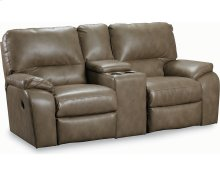 Thad Double Reclining Console Loveseat with Storage