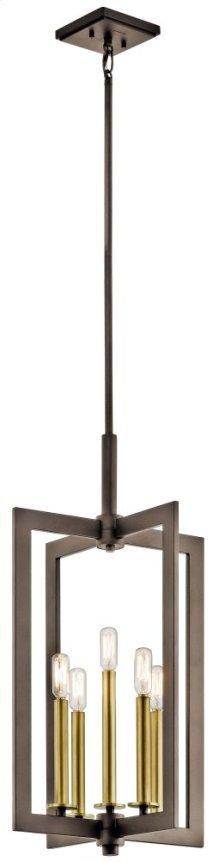 "Cullen 14"" 5 Light Foyer Pendant Olde Bronze®"