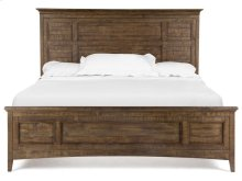 Complete King Panel Bed with Regular Rails