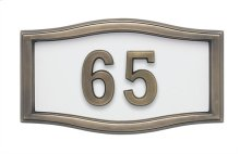 Small Roundtangle HouseMark ® Address Plaques