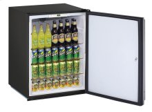 "Ada Series 24"" Ada Solid Door Refrigerator With Stainless Solid (lock) Finish and Field Reversible Door Swing"