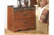 Two Drawer Night Stand Product Image