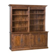 Barristers Bookcase with TV List
