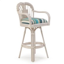 Bar Height Swivel Stool Whitewash 445