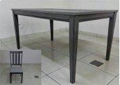 5 Piece Leg Table Set