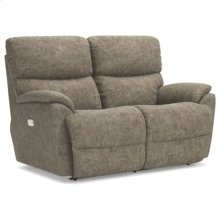 Trouper PowerRecline La-Z-Time® Full Reclining Loveseat w/ Power Headrest