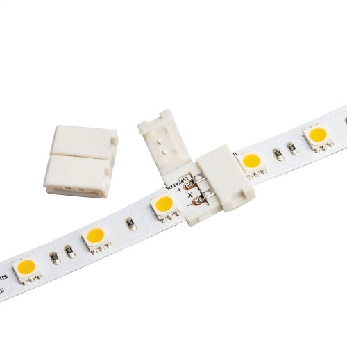 LED Tape Inline Splice White