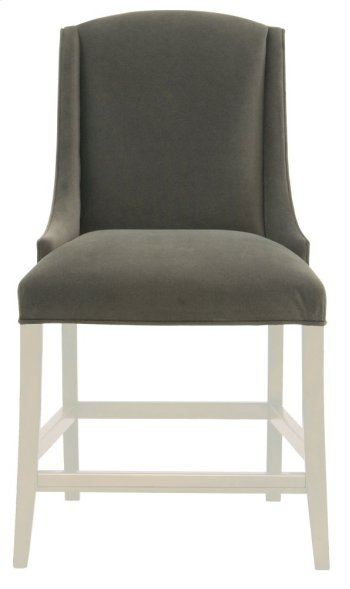 Slope Counter Stool in Chalk Product Image