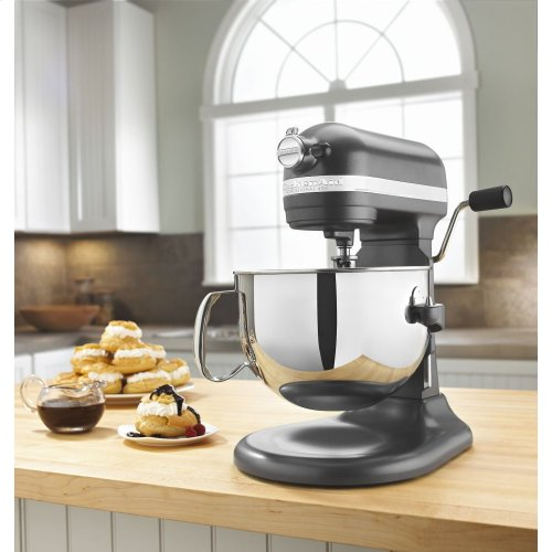 Pro 600 Series 6 Quart Bowl-Lift Stand Mixer - Dark Pewter