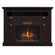 Windsor TV Stand with Electric Fireplace Wall or Corner Product Image