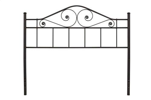 Harrison Full/queen Headboard - Textured Black
