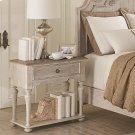 Elizabeth - One Drawer Nightstand - Smokey White/antique Oak Finish Product Image