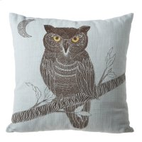 Owl Square Pillow. Product Image