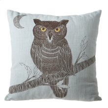 Owl Square Pillow.