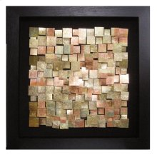 Acid Treated Copper Wall Art