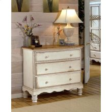 Wilshire Bed Chest Antique White