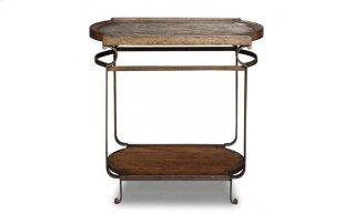 Continental Rec End Table - Vintage Melange/Glazed Ingot