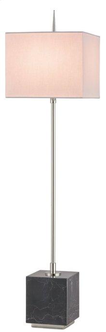 Thompson Black Console Lamp