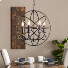 Adriel 6-Light Orb Pendant Lamp Product Image