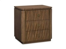 Fulham Three Drawer Nightstand