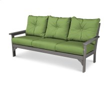 Slate Grey & Ginkgo Vineyard Deep Seating Sofa