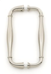 Charlie's Collection Back-to-Back Pull G726-6 - Polished Nickel