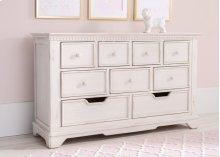Tivoli 9 Drawer Dresser - Antique White (122)