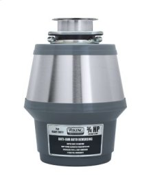 3/4 HP Continuous Feed Food Waste Disposer