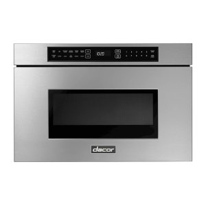 "DacorModernist 24"" Microwave-In-A-Drawer, Silver Stainless Steel"