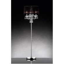 CRYSTAL FLOOR LAMP