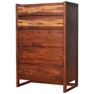 Callisto Chest with 5 Drawers, Java