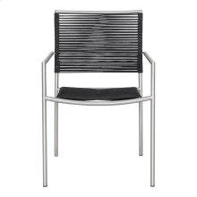Brynn Outdoor Dining Chair Black-m4