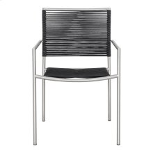 Brynn Outdoor Dining Chair Black-m4