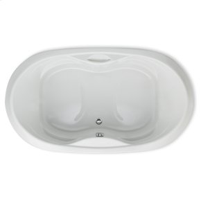 "Easy-Clean High Gloss Acrylic Surface, Oval, AirMasseur® Bathtub, Signature Package, 42"" X 72"""