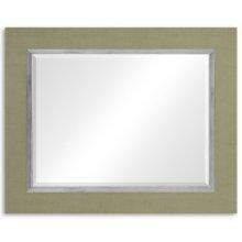 """Lichen & Silver """"Homespun"""" Mirror"""