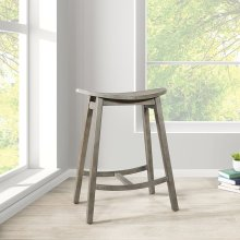 "York 24"" Scoop Saddle Stool"
