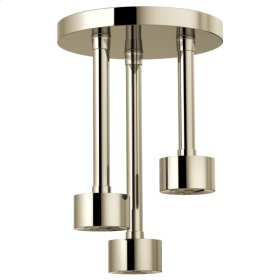H 2 Okinetic® Round Ceiling Mount Pendent Showerhead