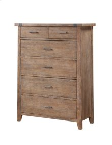 Emerald Home Viewpoint 5 Drawer Chest Driftwood B977-05