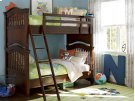 Bunk Bed (Twin) - Classic Cherry Product Image