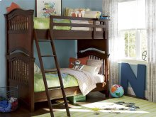 Bunk Bed (Twin) - Classic Cherry