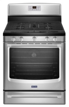 30-inch Wide Gas Range with Convection and Power Burner - 5.8 cu. ft.